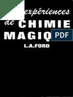 100 Expericences de Chimie Magique