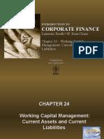 Working Capital Management Current Assets