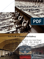Chittagong Railway Carriage & Wagon Workshop - An Internship Presentation