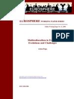 Eurosphere Working Paper 12 Fuga