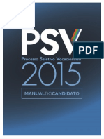 Manual do Candidato 2015 UERN