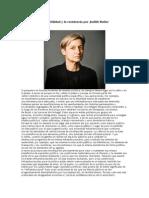 Repensar La Vulnerabilidad y La Resistencia Por Judith Butler