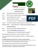 2015 Tom Greene County 4-H Whiz Bang Packet Info