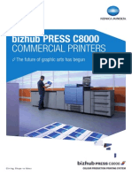 Bizhub PRESS C8000 Commercial Printer Brochure 150dpi