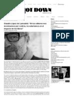 López de Lamadrid-Revista Jot Down_Si Los Editores Por Codicia