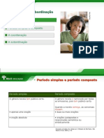 Apresentação Coordenação e subordinação.ppt