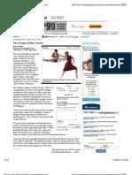 Two Troupes Study Contrast - Washington Post