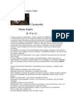O Candomblé Nação Angola