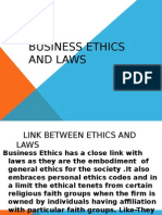 Business Ethics and Laws