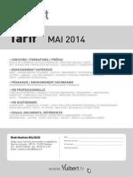 2014_tarifvuibert-mai.pdf