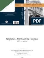 Hispanic Americans in Congress 1822-2012