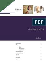 2014 Memoria Anual ACRE