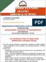 Embedded Systems (a1430) Rtos