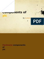 Components of PLC