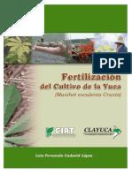 Fertilización Del Cultivo de La Yuca