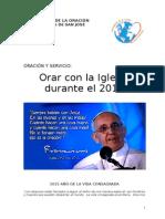 Oracion y Servicio 2015