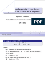 Types of Regression Ppt