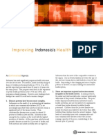 Improving Indonesia's Health Outcomes