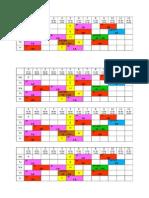 Jadual Waktu SKLU 2015