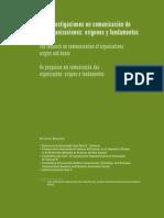Las investigaciones en comunicación de las organizaciones