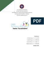 Technocron Internacional - Control Administrativo