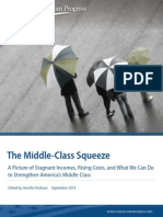 Center for American Progress - The Middle Class Squeeze Report With Annotation