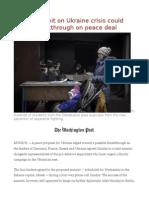 4-Way Summit on Ukraine Crisis Could Herald Breakthrough on Peace Deal