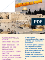 Jerusalém de Ouro Em Hebraico Aperte Mostrar