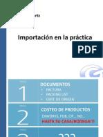 Importación en La Practica Para Clases (26!06!2014)