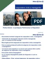 1 Prezentare Asigurarea de Raspundere a Managerilor ALLIANZ TIRIAC