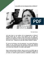 Uso Político de Los Desaparecidos en México