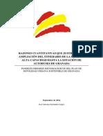 Razones cuantitativas que justifican la llegada de la LAC a la Estación de Autobuses de Granada