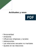 Actitudes y Sexo