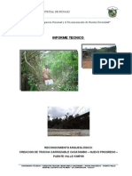 Evaluacion Arqueologica Carretera Casatambo - Valle Kimpiri