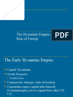 byzantine empire and the rise of europe