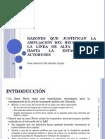 La LAC y la exclusión de la Estación de Autobuses de Granada de sur recorrido