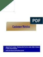 5 Customer Metrics