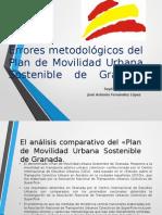 Los errores metodológicos del Plan de Movilidad Urbana Sostenible de Granada