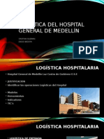 Logística Del Hospital General de Medellín