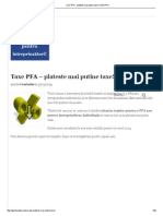 Taxe PFA - Plateste Mai Putine Taxe! _ Ghid PFA