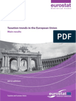 Taxatation Trends in de EU