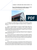 Crean Un Innovador Sistema de Ventilación Para Edificios Nuevos o en Rehabilitación