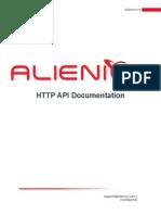 Alienics Http API