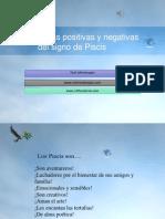 Características positivas y negativas del signo de Piscis