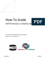 AVP How to Guide