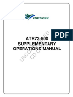 ATR 72 500 Supplementary Operations Manual
