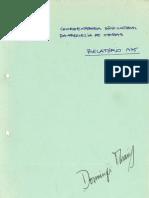 1976 Relatório da Coordenadora Sócio-Cultural da Freguesia de Oeiras