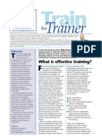 Train the Trainer from Training Journal