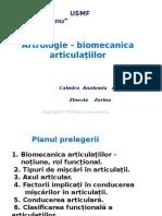 ARTROLOGIE-BIOMECANICA-ARTICULAȚIILOR