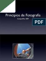 Principios de Fotográfia